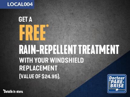 LOCAL004 free rain repellent treatment
