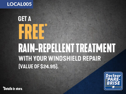 LOCAL005 free rain repellent treatment