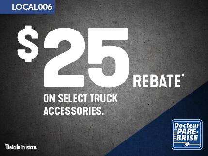 LOCAL006 25$ rebate truck accessories