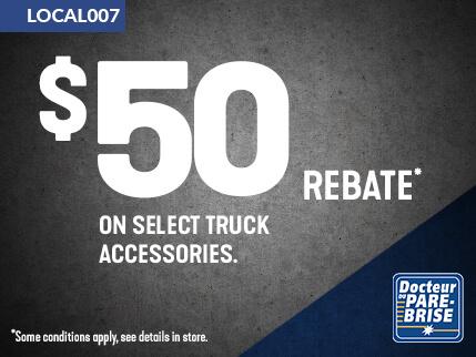 LOCAL007 50$ rebate truck accessories