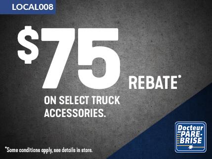 LOCAL008 75$ rebate truck accessories