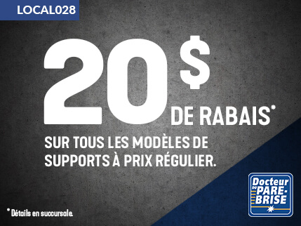 LOCAL028 20$ rabais supports