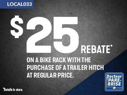 LOCAL033 25$ rebate bike rack
