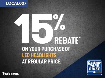 LOCAL037 15% rebate led headlights